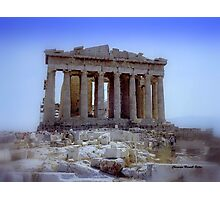 Parthenon 1990 Photographic Print