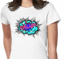 calum to win Womens Fitted T-Shirt