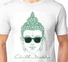 Chill Buddy  Buddha in Shades  Unisex T-Shirt