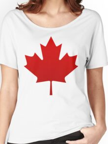 Canada is happening Women's Relaxed Fit T-Shirt