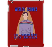 Wesley Crusher - Troublesome Man-child - Star Trek the Next Generation iPad Case/Skin