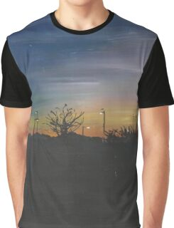 Sunset in winter Graphic T-Shirt