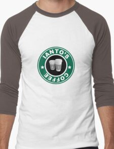 Torchwood- Ianto's Coffee Men's Baseball ¾ T-Shirt