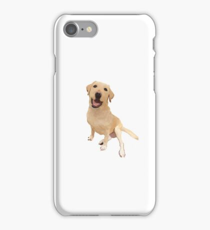 Yellow Labrador Retriever iPhone Case/Skin
