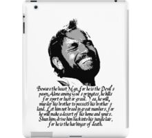 Beware The Beast Man - Planet of the Apes iPad Case/Skin