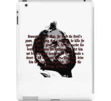 Beware The Beast Man (1) - Planet of the Apes iPad Case/Skin