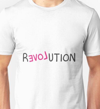 Revolution love pink grafitti  Unisex T-Shirt