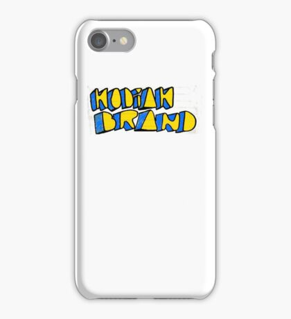 Kodiak Brand Bold iPhone Case/Skin