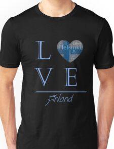 Love Finland T Shirt Hoodie & More Unisex T-Shirt