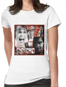 Hitchcock Psycho Movie Womens Fitted T-Shirt