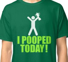 I Pooped Today Emoji T-shirt Cool Poop Emoticon Tshirt Classic T-Shirt