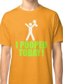 I Pooped Today Emoji T-shirt Cool Poop Emoticon Tshirt Classic T-Shirt