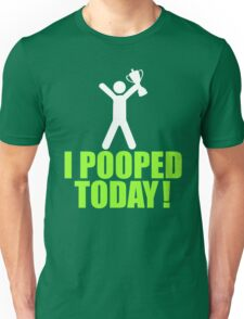I Pooped Today Emoji T-shirt Cool Poop Emoticon Tshirt Unisex T-Shirt