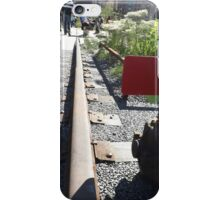 Abandoned Switch, High Line, New York City's Elevated Garden and Park iPhone Case/Skin