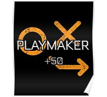 Rocket Leaugue Video Game Playmaker +50 Funny Gifts Poster