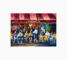 CAFE IN PARIS - Leonid Afremov Unisex T-Shirt