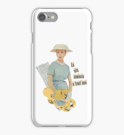 Life begins at 30 iPhone Case/Skin