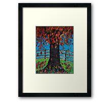 Natures Tumble Framed Print