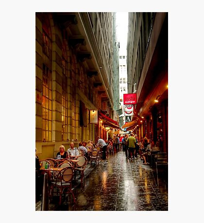 Causeway Lane, Melbourne Photographic Print