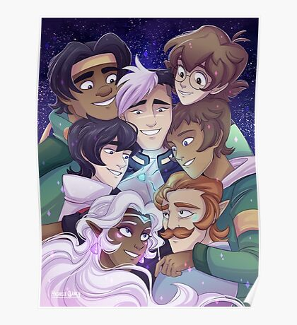 The Voltron Family Poster