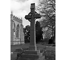 England Cross Photographic Print