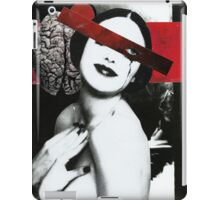Beauty and Brains iPad Case/Skin