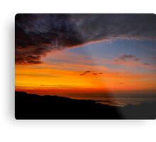 Sunset over the Atlantic - Glencolmcille, Ireland Metal Print