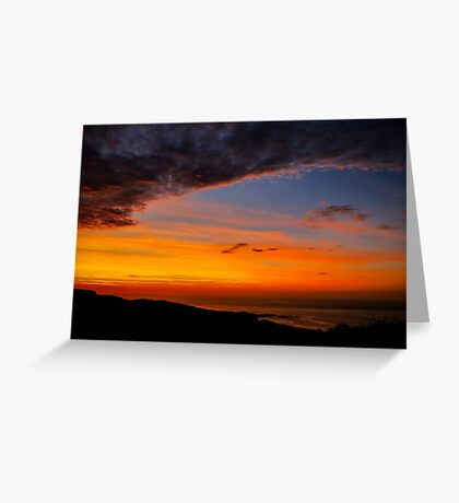 Sunset over the Atlantic - Glencolmcille, Ireland Greeting Card