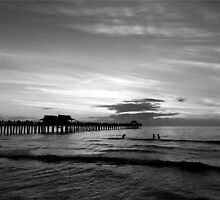 Naples pier by joAnn lense