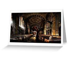 Vampire Cathedral Greeting Card