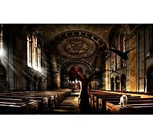 Vampire Cathedral Photographic Print