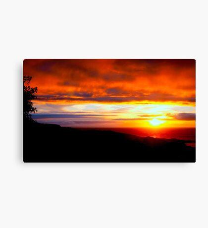 Sunset  - Glencolmcille, Ireland Canvas Print