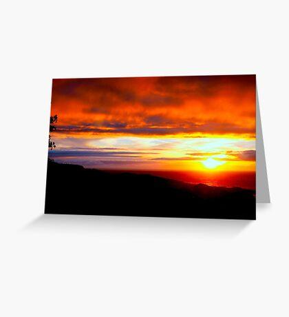 Sunset  - Glencolmcille, Ireland Greeting Card