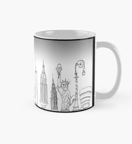 New York Landmarks Mug