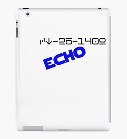CT-26-1409 ECHO! iPad Case/Skin