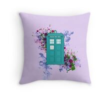 Where Would You Like to Start? - Doctor Who Throw Pillow