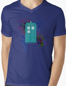 Where Would You Like to Start? - Doctor Who Mens V-Neck T-Shirt