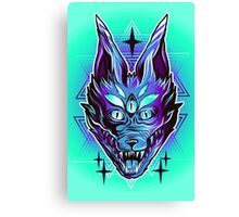 Mystic Wolf  Canvas Print