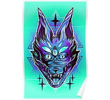 Mystic Wolf  Poster