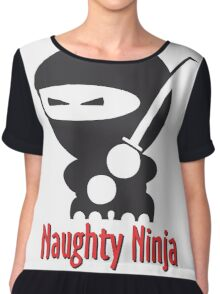 The Naughty Ninja Chiffon Top