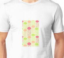 Cartoon Childish Cloud Pattern Unisex T-Shirt