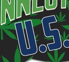 Connecticut  Marijuana Cannabis Weed Connecticut  Sticker