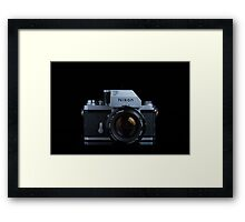 Nikon F with FTn Photomic prism Framed Print