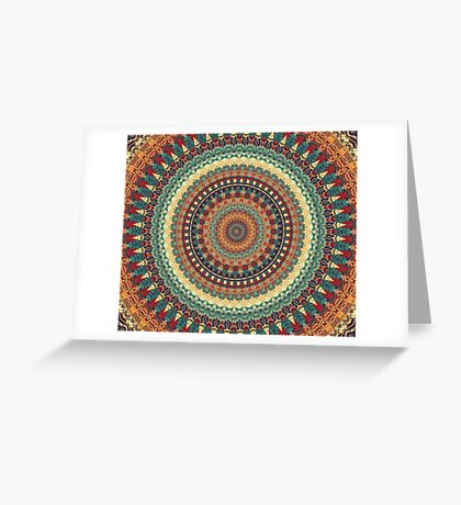 Mandala 182 Greeting Card