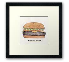 Firestone deluxe - junk food cafe racer Framed Print