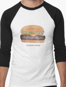 Firestone deluxe - junk food cafe racer Men's Baseball ¾ T-Shirt