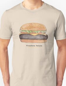 Firestone deluxe - junk food cafe racer T-Shirt