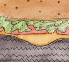 Firestone deluxe - junk food cafe racer Sticker