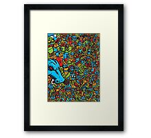 Monsters In My Pockets Framed Print