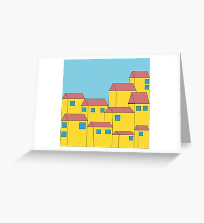 Primary City Greeting Card